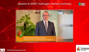 H.E. Mr Bruce Gosper Australian High Commissioner Australian Trade & Investment Commission