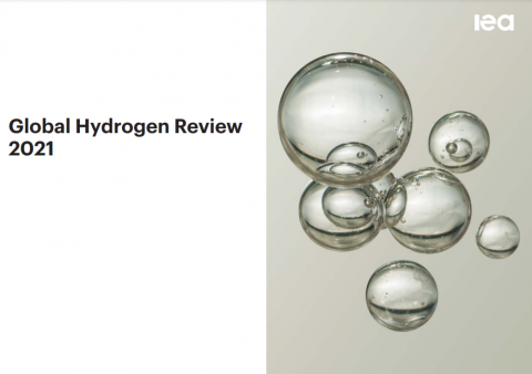 The new International Energy Agency (IEA) report: Global Hydrogen Review 2021 has landed!